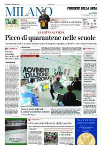 Corriere della Sera Milano – 30 ottobre 2020