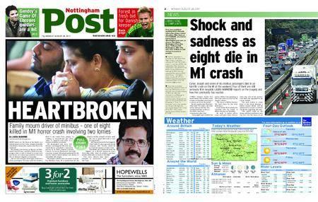 Nottingham Post – August 28, 2017