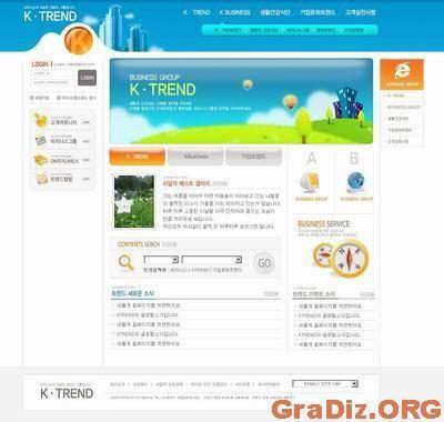 Asia WebSite PSD Template 022
