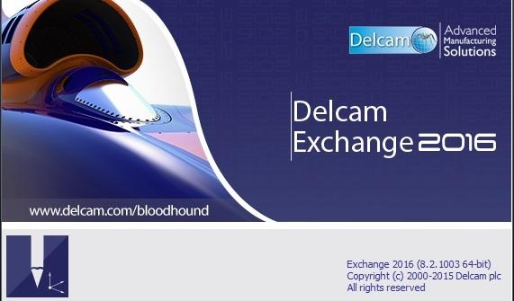 Delcam Exchange 2016 CR 8 2 1003 (x64) / AvaxHome