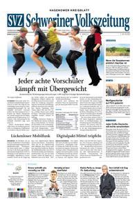 Schweriner Volkszeitung Hagenower Kreisblatt - 18. November 2019