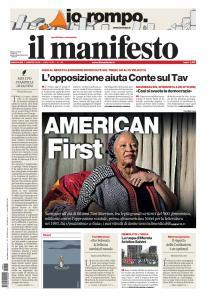 il Manifesto - 7 Agosto 2019
