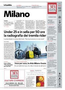 la Repubblica Milano - 5 Febbraio 2019