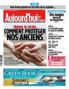 Aujourd'hui en France du Mercredi 27 Février 2019