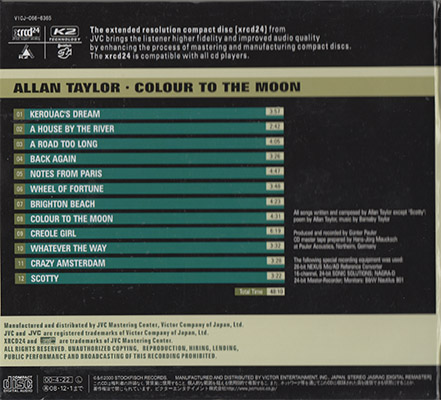 Allan Taylor - Colour To The Moon [Stockfisch, Victor VICJ-066-6365] (Japan 2008, XRCD24}