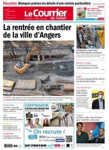 Le Courrier de l'Ouest Angers – 27 août 2020