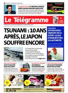 Le Télégramme Brest Abers Iroise – 11 mars 2021