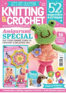 Let's Get Crafting Knitting & Crochet - Issue 123 - July 2020