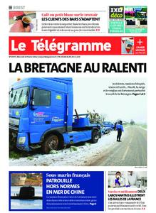 Le Télégramme Brest – 10 février 2021