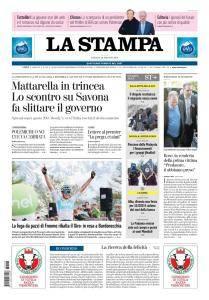 La Stampa Torino Provincia e Canavese - 26 Maggio 2018
