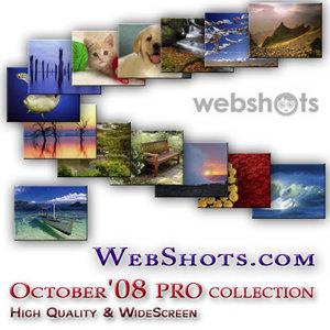 Webshots premium + wide screen collection (October 2008)