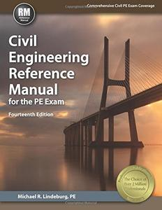 Civil Engineering Reference Manual for the PE Exam, Fourteenth edition