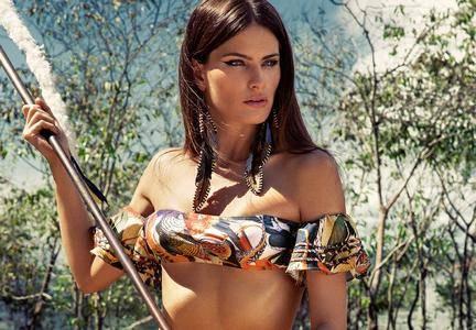 Isabeli Fontana by Eduardo Rezende for Agua de Coco Summer 2017 Campaign