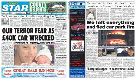 Shropshire Star Shrewsbury Edition – January 02, 2018