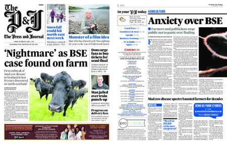 The Press and Journal Moray – October 19, 2018