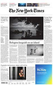 International New York Times - 22 November 2017