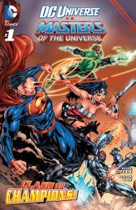 DC Universe vs The Masters of the Universe 001 2013 digital