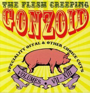 Andrew Liles - The Flesh Creeping Gonzoid: Speciality Offal & Other Choice Cuts  (2018)