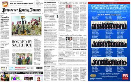 The Providence Journal – November 11, 2018