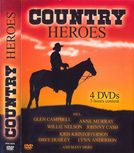 VA - Country Heroes (2005) [4 DVDs Set] Re-up