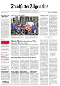 Frankfurter Allgemeine Zeitung F.A.Z. - 25. März 2019