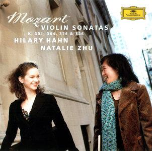 Hilary Hahn & Natalie Zhu - Wolfgang Amadeus Mozart: Violin Sonatas KV 301, 304, 376 & 526 (2005)