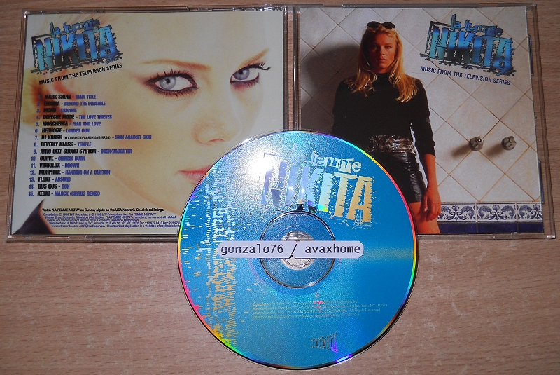 Various ‎– La Femme Nikita: Music From The Television Series (1998)