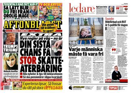 Aftonbladet – 25 mars 2019