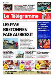 Le Télégramme Brest – 10 décembre 2020