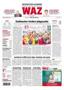 WAZ Westdeutsche Allgemeine Zeitung Oberhausen-Sterkrade - 24. November 2017