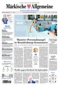 Märkische Allgemeine Luckenwalder Rundschau - 22. Oktober 2018