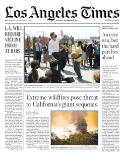 Los Angeles Times - 16 September 2021
