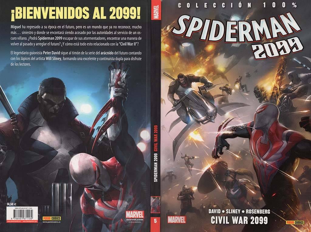 100% Marvel. Spiderman 2099 núm. 5: Civil War 2099