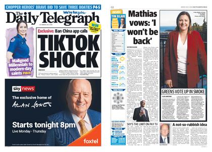 The Daily Telegraph (Sydney) – July 06, 2020