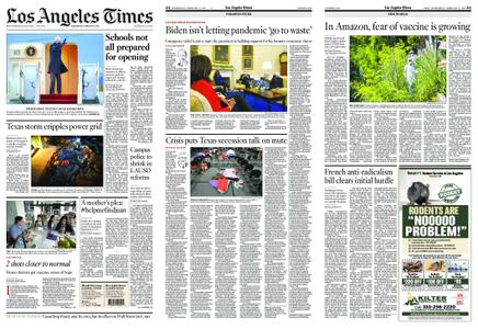 Los Angeles Times – February 17, 2021