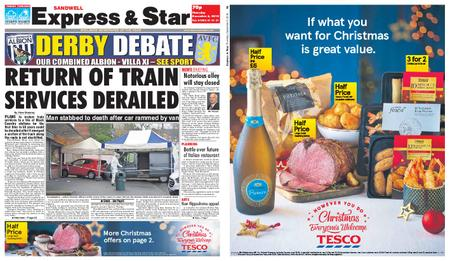 Express and Star Sandwell Edition – December 06, 2018