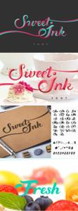 Sweet Ink Calligraphy Beautiful Font