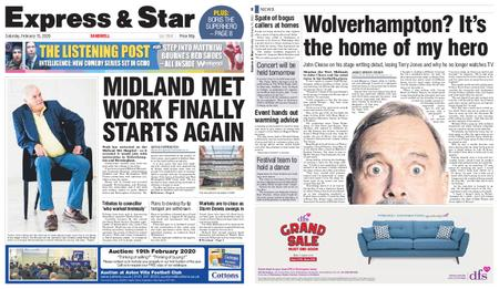 Express and Star Sandwell Edition – February 15, 2020