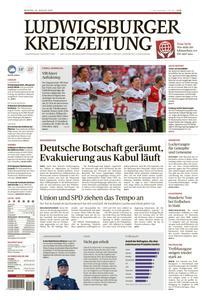 Ludwigsburger Kreiszeitung LKZ - 16 August 2021