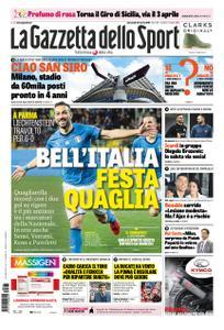 La Gazzetta dello Sport Roma – 27 marzo 2019