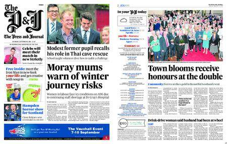 The Press and Journal Moray – September 08, 2018