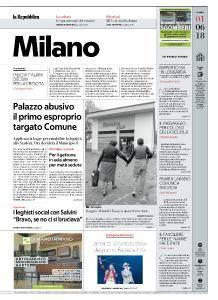 la Repubblica Milano - 1 Giugno 2018
