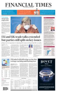 Financial Times Middle East - December 14, 2020