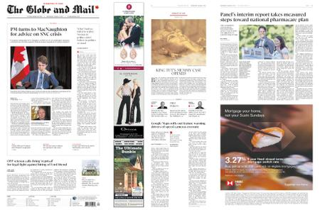 The Globe and Mail – March 06, 2019