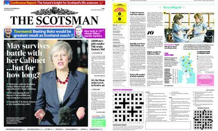 The Scotsman – November 15, 2018