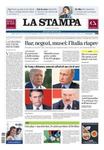 La Stampa Imperia e Sanremo - 17 Maggio 2020