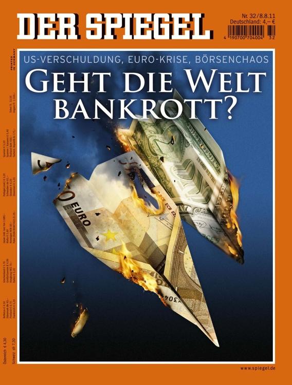 Der Spiegel Nr. 32 vom 08.08.2011 inkl. Ausgabe Nr. 31