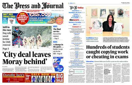 The Press and Journal Moray – January 08, 2018
