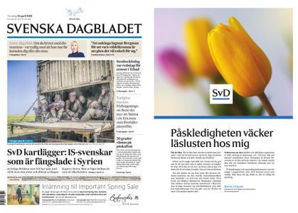 Svenska Dagbladet – 18 april 2019