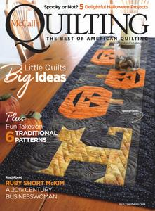 McCall's Quilting – September/October 2020